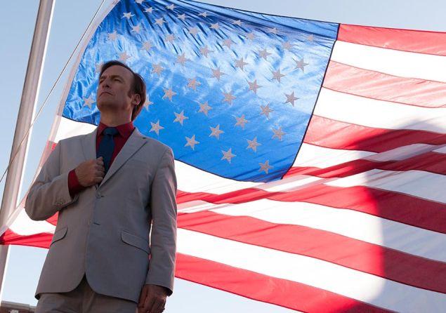 Bob Odenkirk as Jimmy McGill.