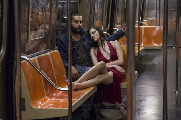 Christopher Abbott as Charlie Dattolo and Allison Williams as Marnie Michaels.