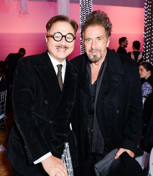 Michael Chow, Al Pacino.