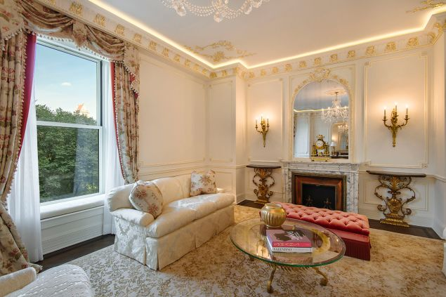 Every home should have an antique fireplace from an 18th century Parisian chateau, right?