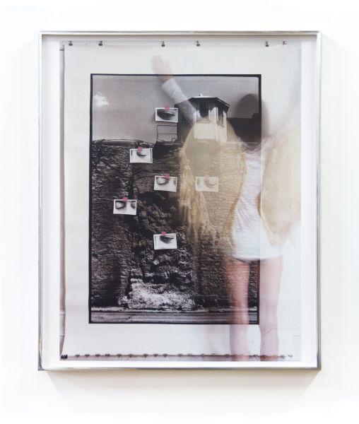 Moyra Davey, Oozing Wall (Wings), 2014.