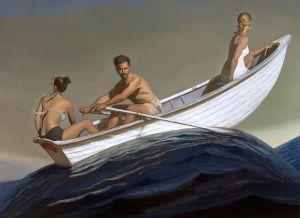 Bo Bartlett's painting 'The Promised Land.'