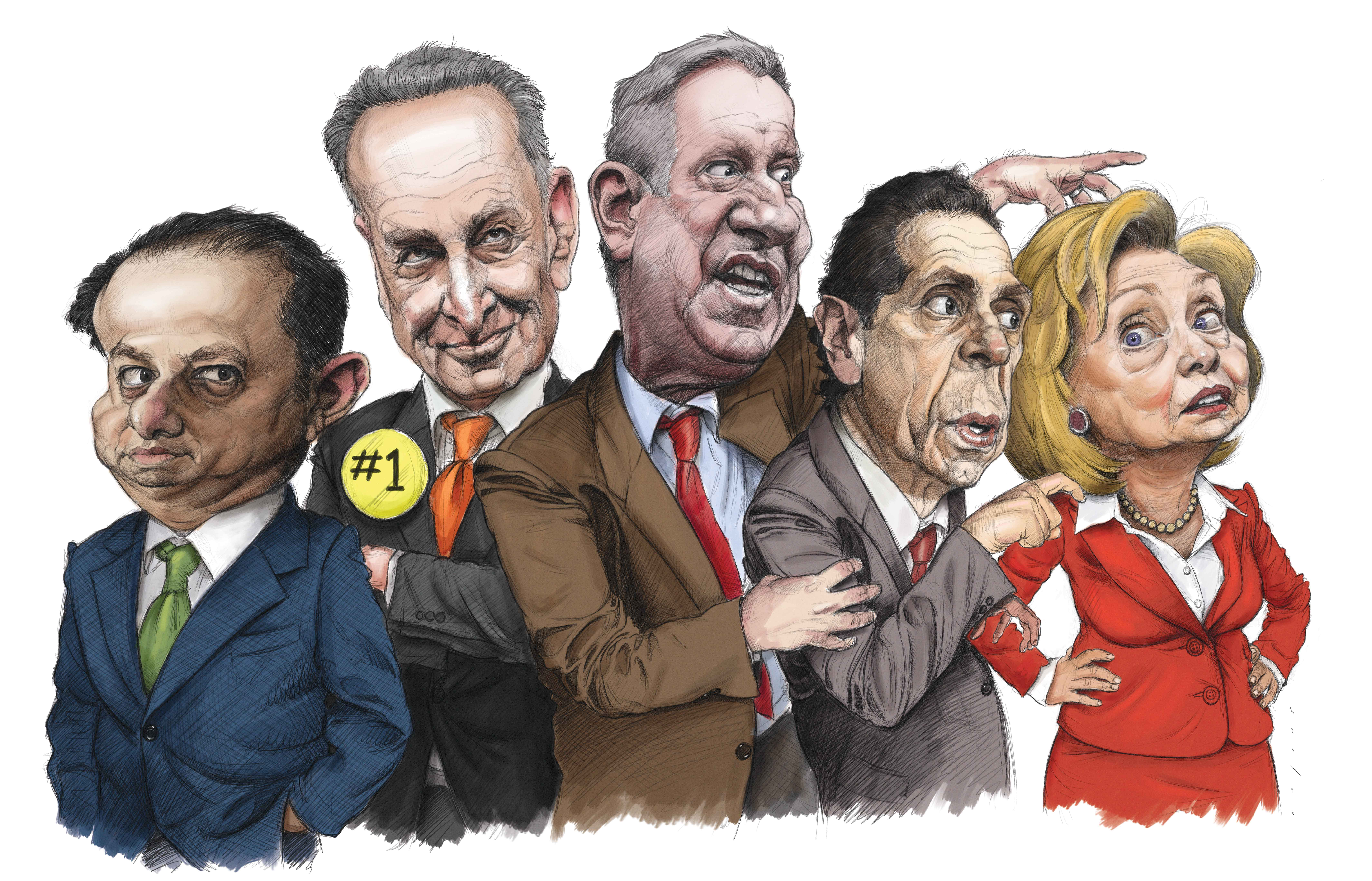 The New York Observer's annual ranking of political power.