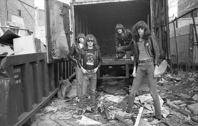 Hometown heroes, The Ramones.