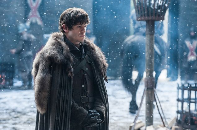 Iwan Rheon as Ramsay Bolton.