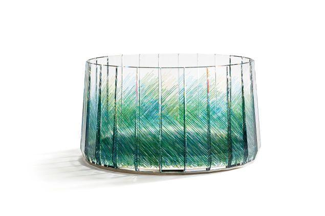Atelier Swarovski Home's 'Raw Edges' centerpiece