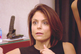 Bethenny Frankel in The Real Housewives of New York.