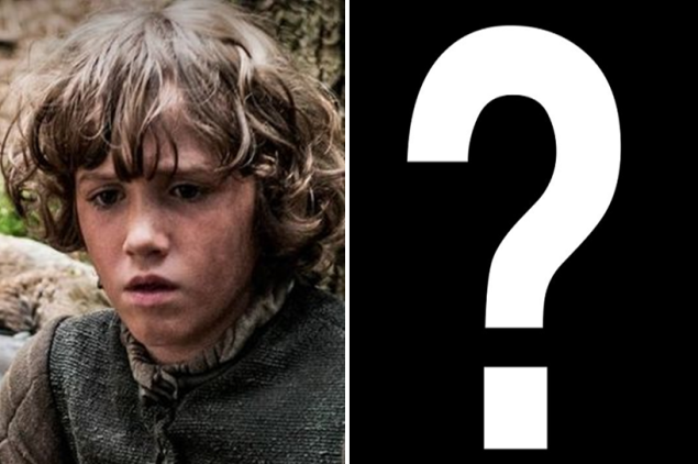 Art Parkinson as Rickon Stark.