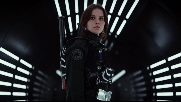 Felicity Jones as Jyn Erso in Rogue One (Photo: Screenshot via YouTube)