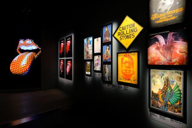 Inside The Rolling Stones exhibit