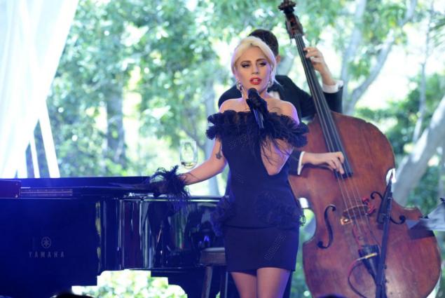 Lady Gaga in Christopher Kane