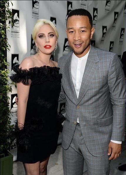 Lady Gaga and John Legend