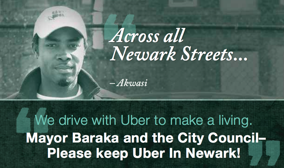 An excerpt from the Uber mailer.