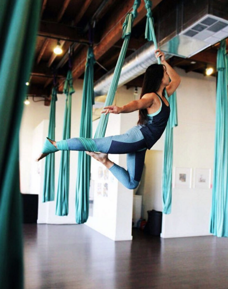 ClassPass members can try everything from aerial yoga to spinning