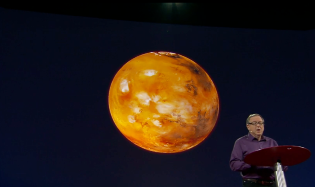 Stephan Petranek speaks about surviving on Mars at TED2015.