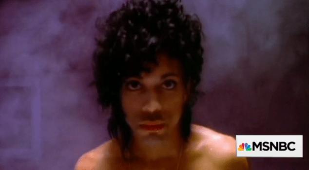 The Prince deep dive on MSNBC.