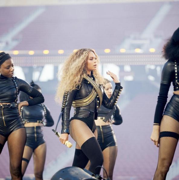Beyoncé in Formation.