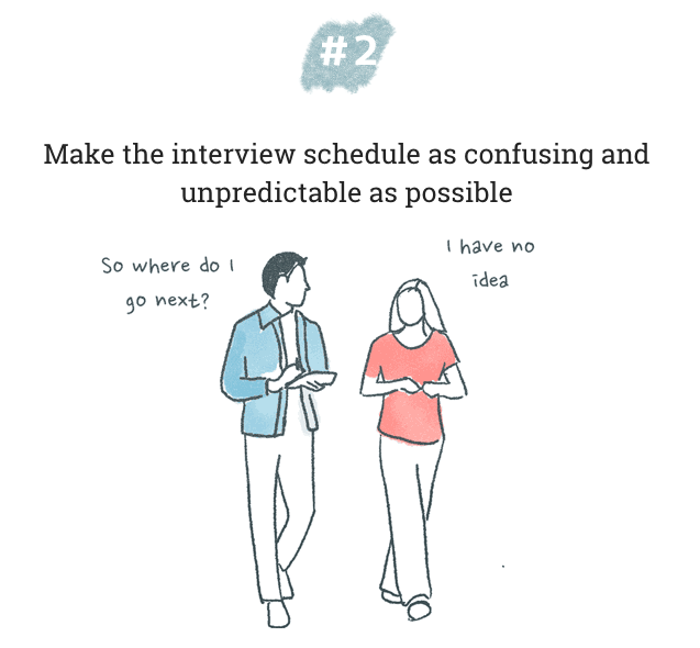 Interview confusion