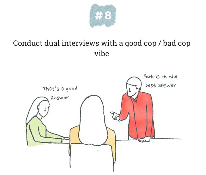 Dual interviews