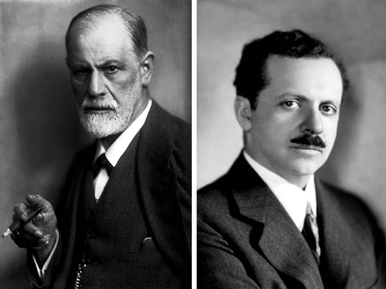 """Bernays used """"Uncle Siggy's"""" ideas to build an advertising empire. He also later made Freud famous in the US by getting his theories published in magazines."""