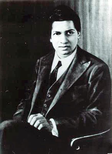 Indian math prodigy Srinivasa Ramanujan