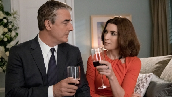 Chris Noth and Julianna Margulies.