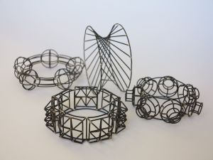 Iron Wire Bracelets by Thomas Raschke