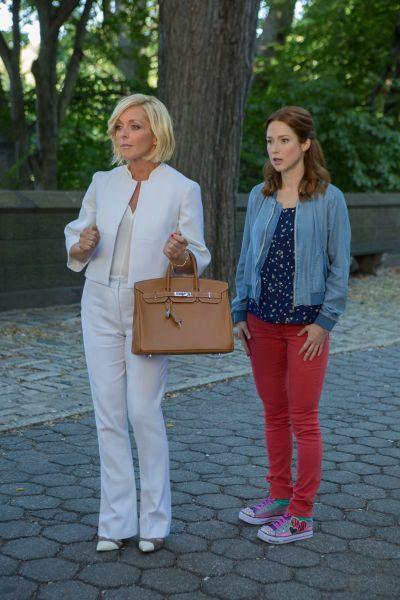 Jane Krakowski and Ellie Kemper in Unbreakable Kimmy Schmidt.