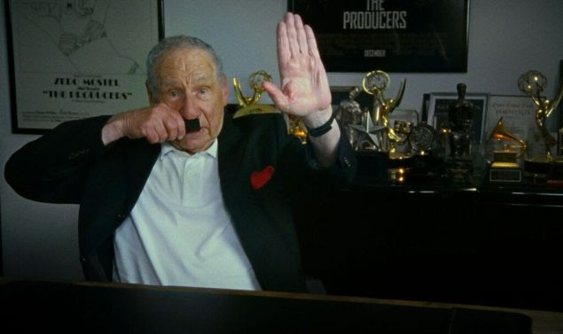 Mel Brooks in The Last Laugh.