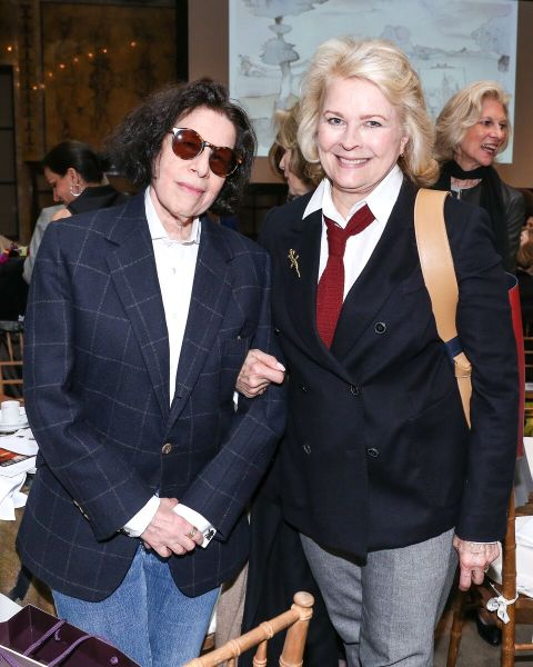 Fran Leibowitz and Candice Bergen
