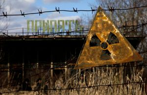 The area around Chernobyl is still reactive today.