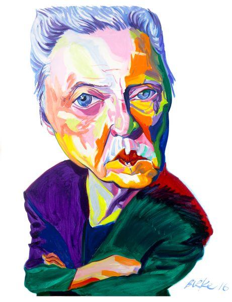 Christopher Walken by Philip Burke