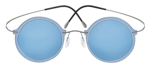 Blue shades from Wes Gordon and Silhouette