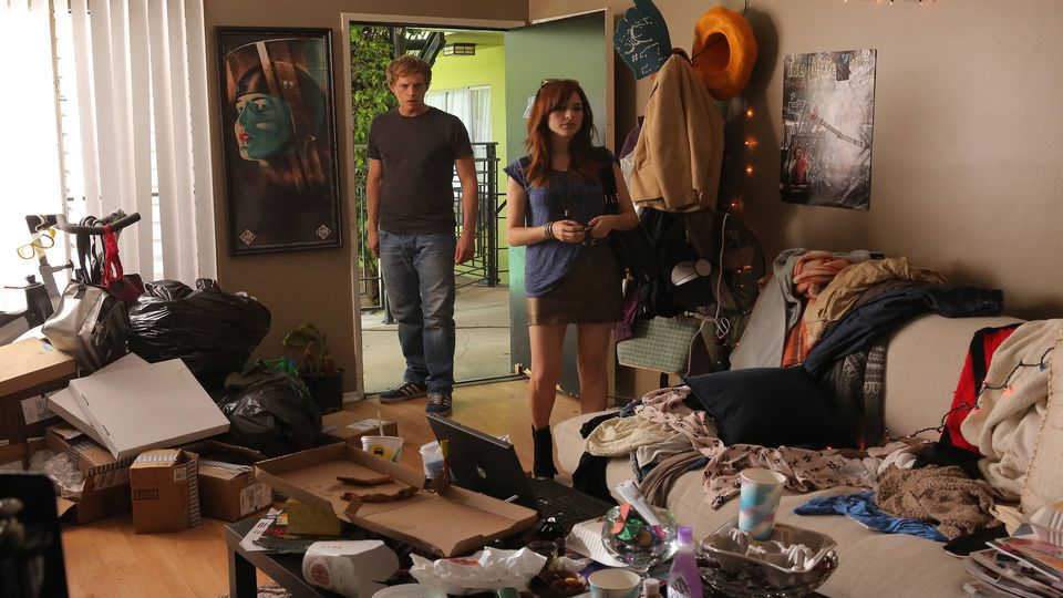 The apartment reveal on FX's You're the Worst.