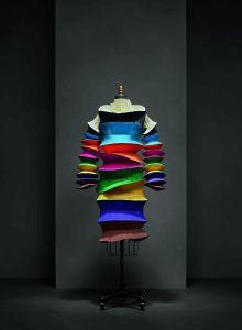 """Flying Saucer"" Dress by Issey Miyake, spring 1994"