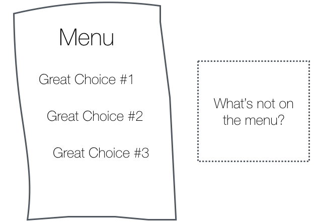Limiting choice