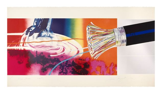 James Rosenquist, Horse Blinders (east), 1972.