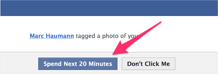 "Facebook promises an easy choice to ""See Photo."" Would we still click if it gave the true price tag?"