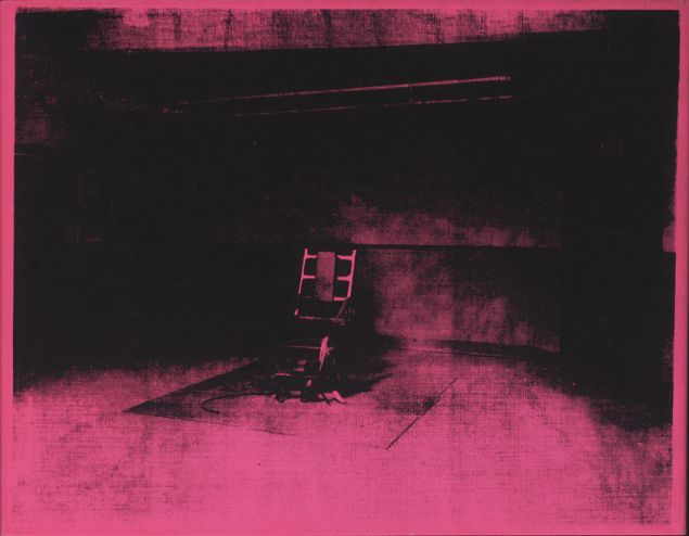 Andy Warhol, Little Electric Chair, 1964.