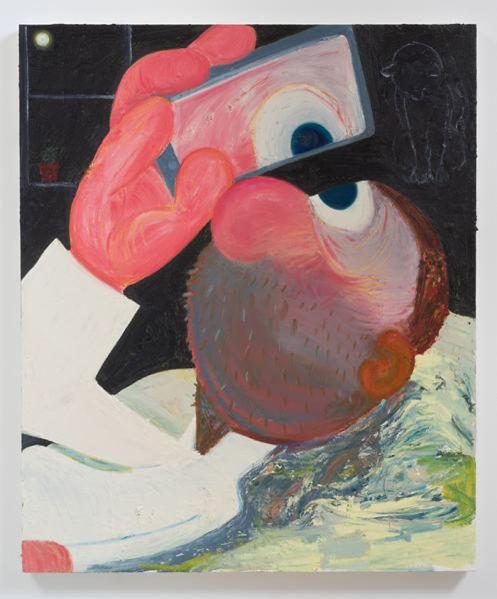 Nicole Eisenman, Selfie, 2014.