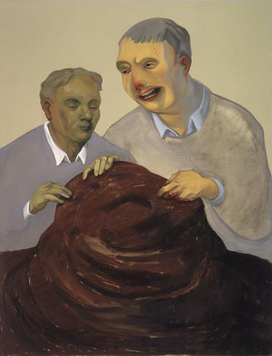 Nicole Eisenman, The Work of Labor and Care, 2004.