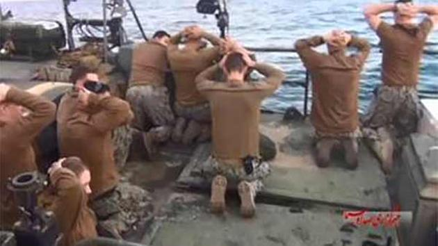 The 10 US Navy sailors detained by Iran.