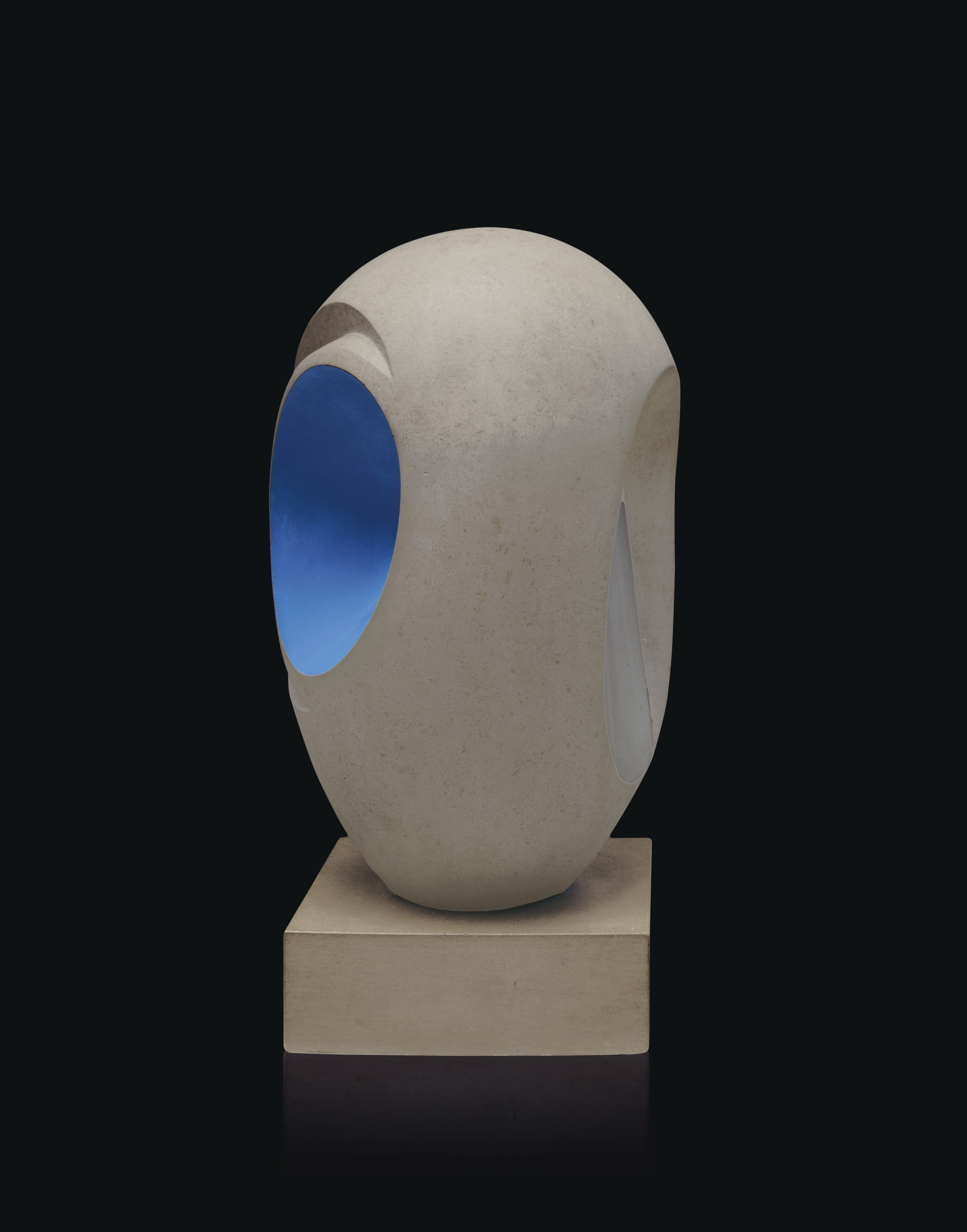 Barbara Hepworth's Sculpture with colour.