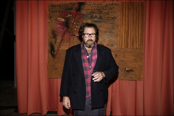 FRANCE - FEBRUARY 28: David Lynch private diner In Paris, France On February 28, 2007 - Julian Schnabel.