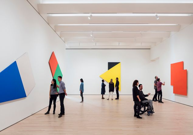 Works by Ellsworth Kelly from the Fisher Collection.