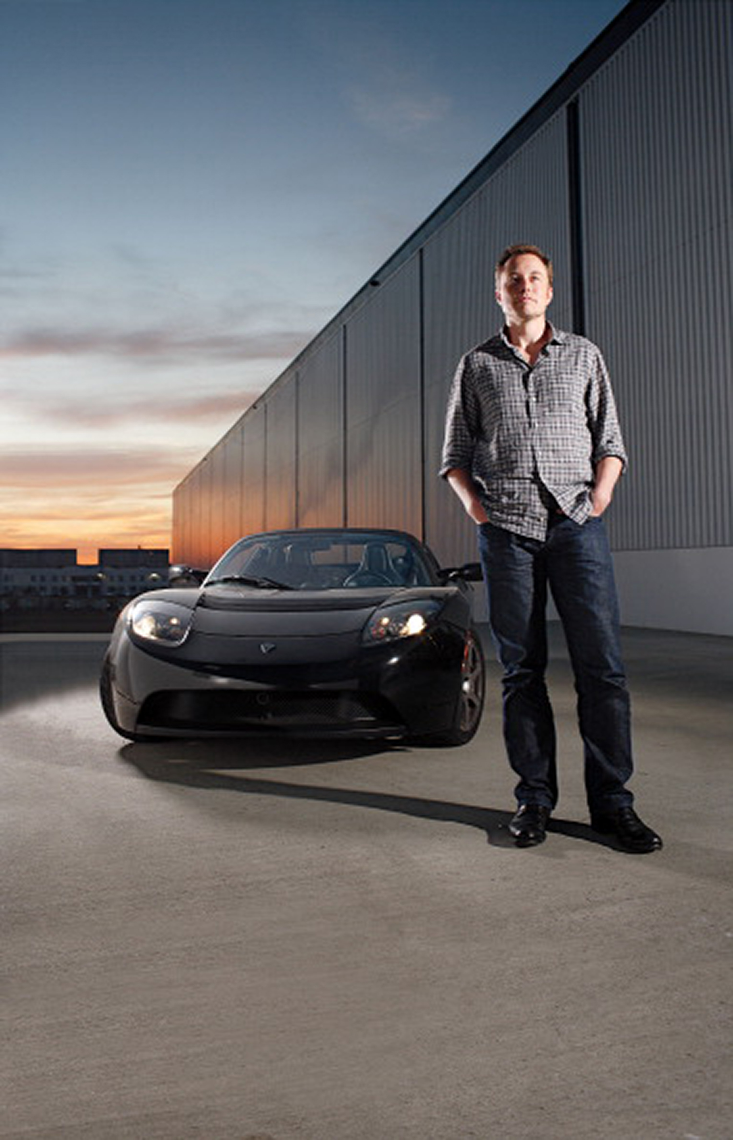 Unknown Location - JANUARY 01, 2009: Elon Musk is the CEO of based electric car company Tesla Motors.