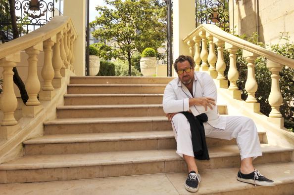 Rendezvous With Julian Schnabel. Le peintre et réalisateur américain Julian SCHNABEL. 6 juillet 2010.
