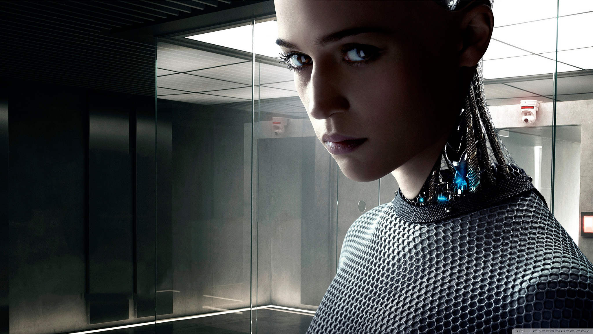 Movies like 'Ex Machina' address how humans interact with artificial intelligences.
