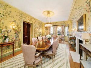Lovely dining room.