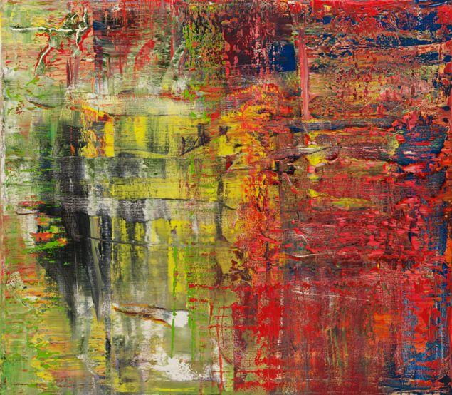 Gerhard Richter, 940-8 Abstraktes Bild, 2015.
